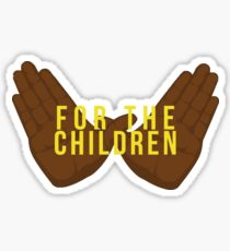 Wu-tang for the children Sticker