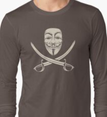 Mask Of Modern Mutiny FK894 New Product Long Sleeve T-Shirt