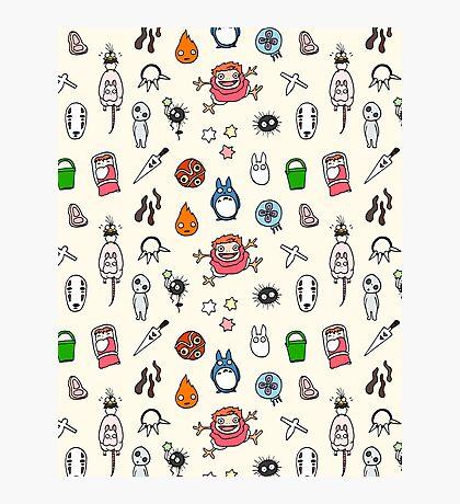 Ghibli Miyazaki cute pattern Impression photo