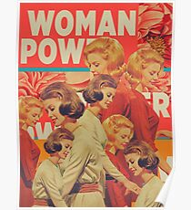 Woman Power Poster