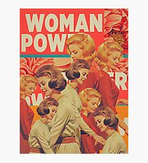Woman Power Photographic Print