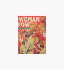 Woman Power Art Board