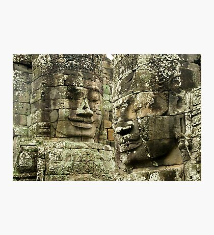 Heads of Stone Photographic Print