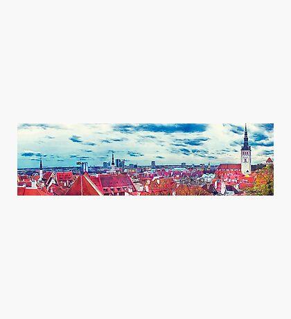 Tallinn art 8 #tallinn #city  Photographic Print