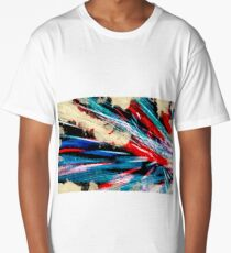 abstract lines Long T-Shirt