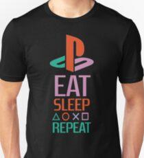 EAT SLEEP PLAYSTATION REPEAT TSHIRT  Unisex T-Shirt