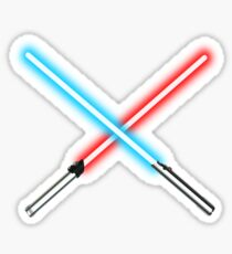 Star Wars Lightsaber Sticker