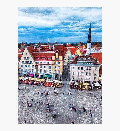 Tallinn art 10 #tallinn #city  Photographic Print