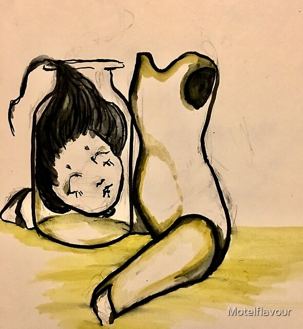 La fille by Motelflavour