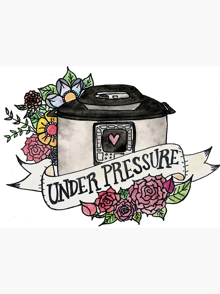 Pressure Cooker Instant Pot Tattoo Style Art by dudethatsdope
