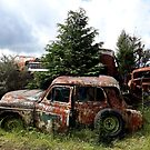 old rusty car 2 by 64stops