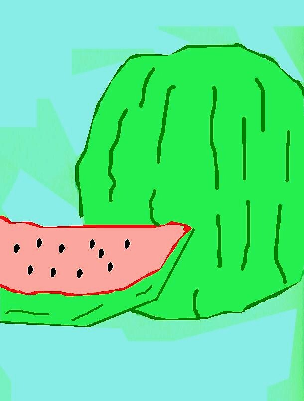 Watermelon by monica98