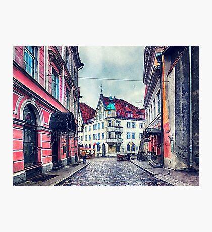 Tallinn art 11 #tallinn #city  Photographic Print