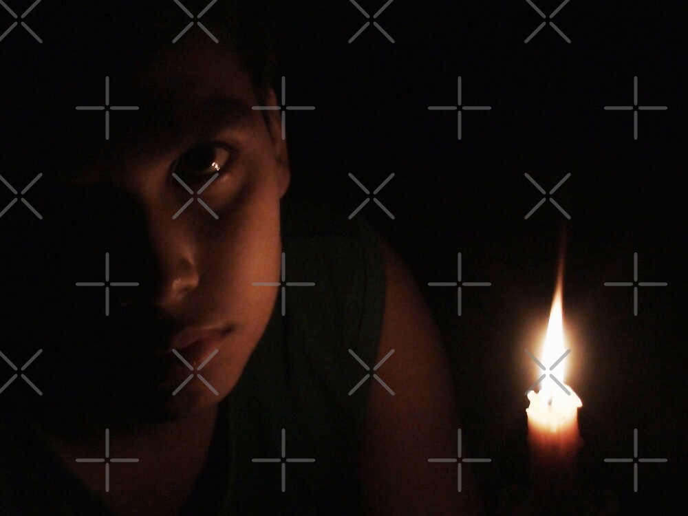 Closeup in candle light only by nasera
