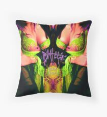 Slimey  Throw Pillow