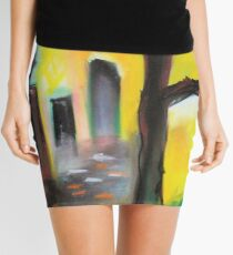dry tree Mini Skirt
