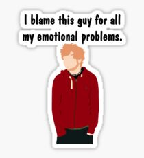 Emotional Problems ES Sticker