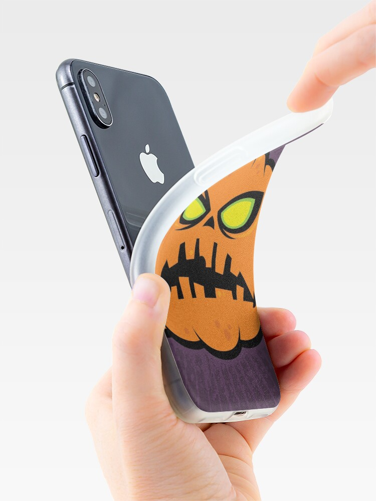 Alternate view of Pumpkin Zombie iPhone Case & Cover