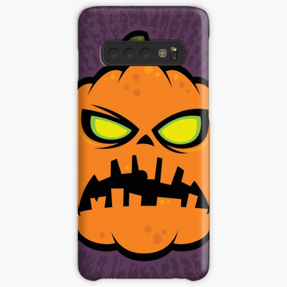 Pumpkin Zombie Case & Skin for Samsung Galaxy