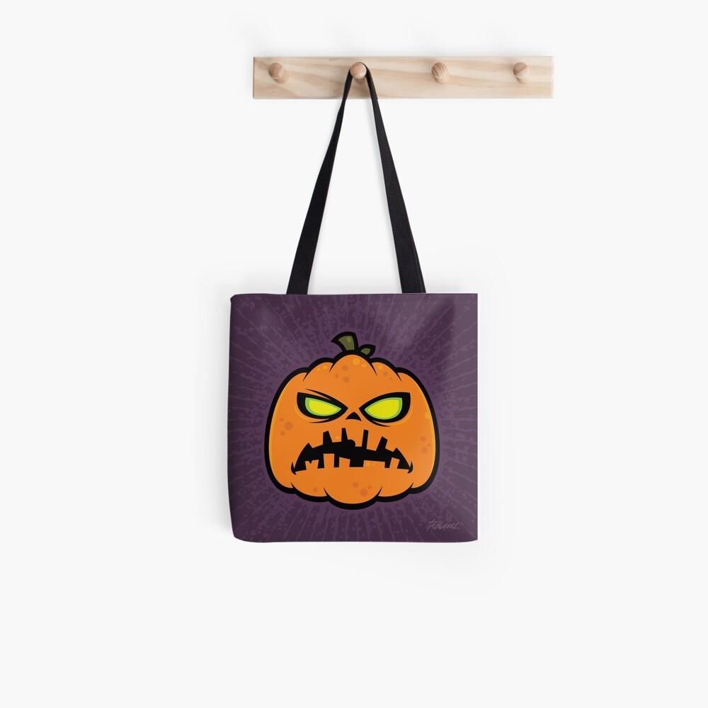 Pumpkin Zombie Tote Bag