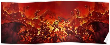 Doom Artwork Poster