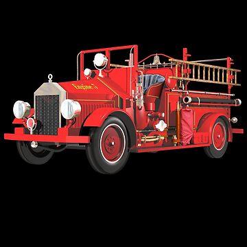 Antique Fire Engine by fotokatt