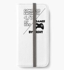 Gamer programmer T shirt iPhone Wallet/Case/Skin