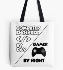 Gamer programmer T shirt Tote Bag