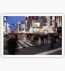 Shinjuku Crosswalk Sticker