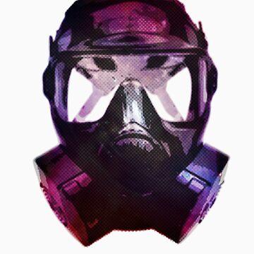 Mercury-Coated Gas Mask by moyno85