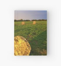 Merry maidens Stone Circle, Cornwall Hardcover Journal