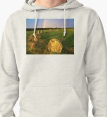 Merry maidens Stone Circle, Cornwall Pullover Hoodie