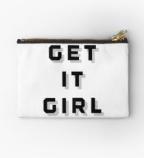 Get It Girl Studio Pouch