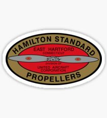 Hamilton Standard Logo Reproduction Sticker