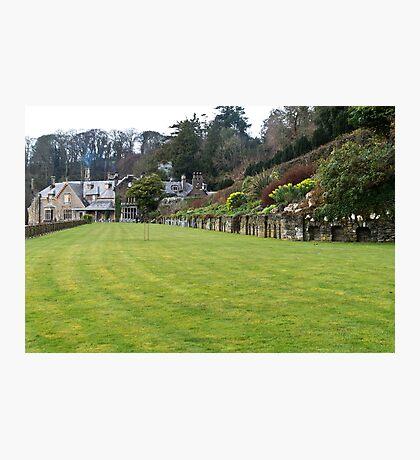 Croquet Lawn Photographic Print
