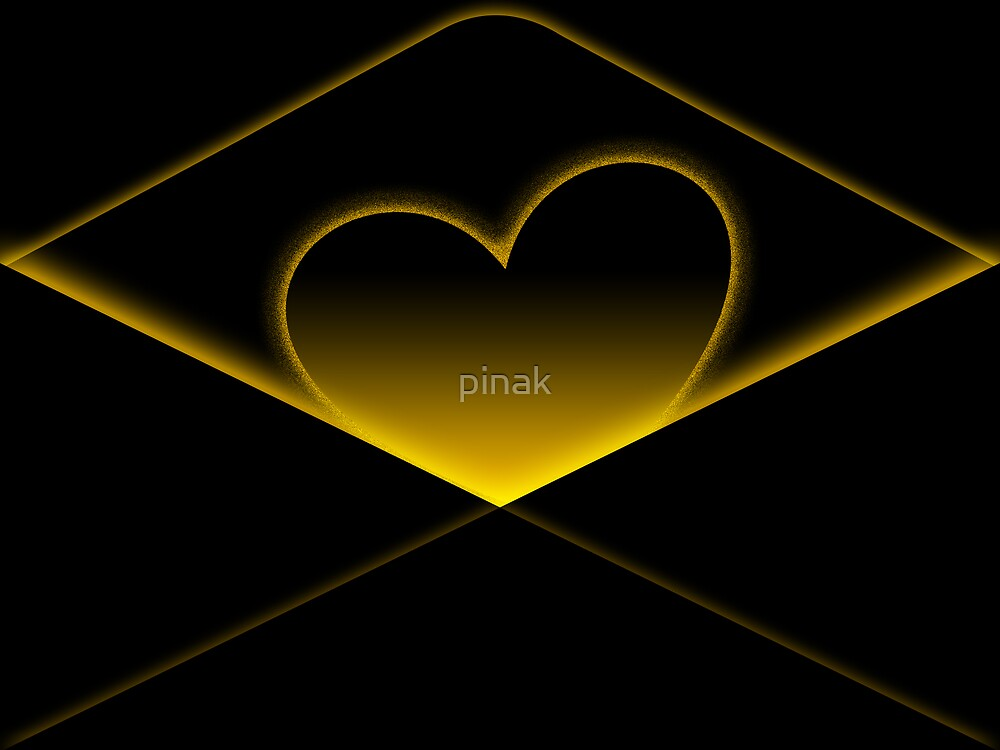 Enclosing my heart inside by pinak