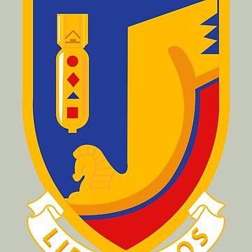 376th Bombardment Group Liberandos Emblem by warbirdwear