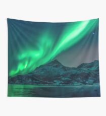 Aurora Borealis (Northern Lights) Tapestry