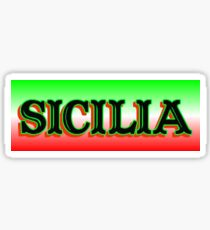The Sicilia Design Sticker