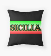 The Sicilia Design Throw Pillow