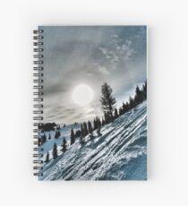 Snowstorm Spiral Notebook