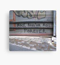 Rock n Roll Canvas Print