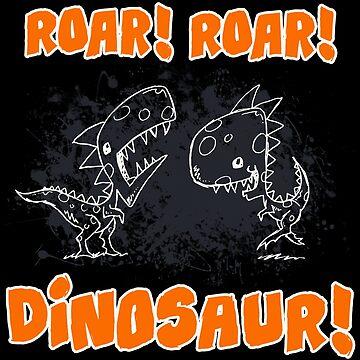 Roar! Roar! Dinosaur! by Hackers