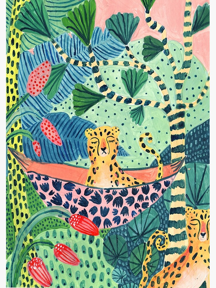 Jungle Leopard Family! by amberstextiles