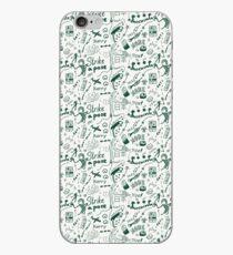 Konichiwa! The jazz pattern iPhone Case