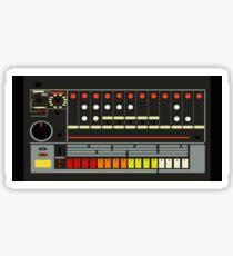 TR-808 Drum Machine Sticker