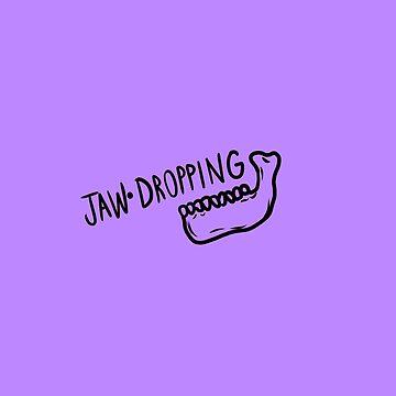 Jaw Dropping- Skeleton Jaw by Ivegotartitude
