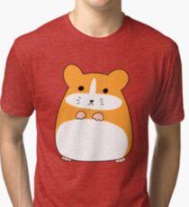 Cute Hamster Tri-blend T-Shirt