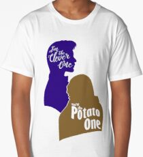 """""""I'm the Clever One. You're the Potato One."""" Long T-Shirt"""