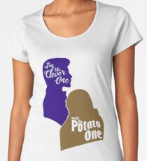 """""""I'm the Clever One. You're the Potato One."""" Women's Premium T-Shirt"""